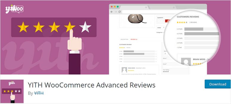YITH Woocommerce Reviews
