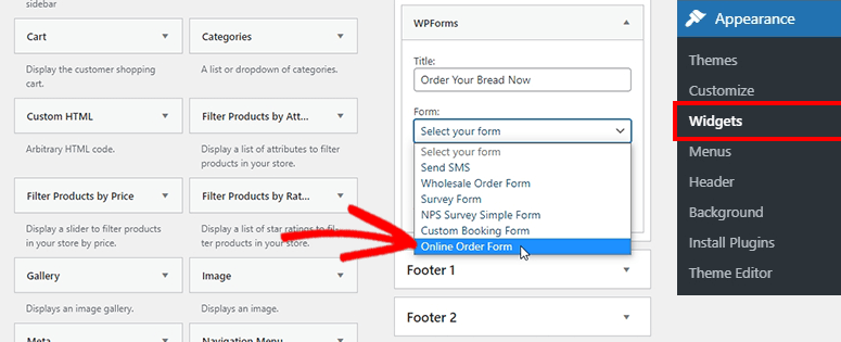 Add form widget
