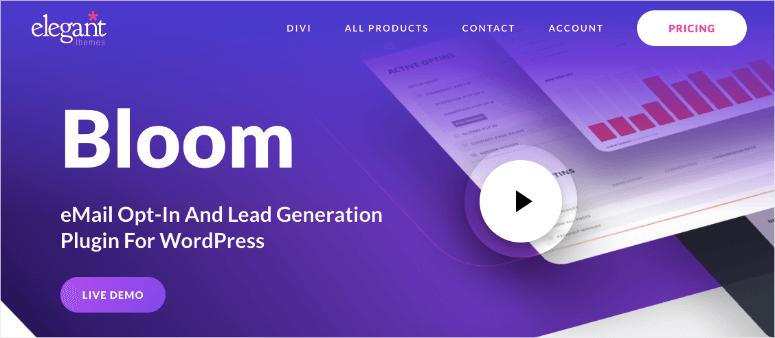bloom homepage