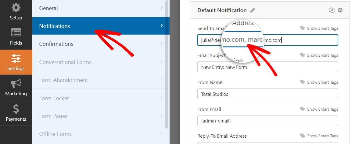 form-notification-email