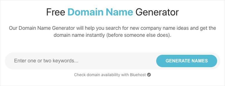 free domain name generator