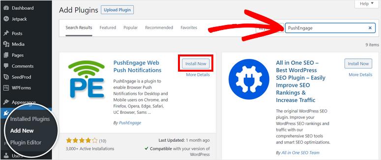 install-pushengage-plugin