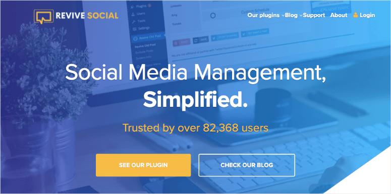 revive social media