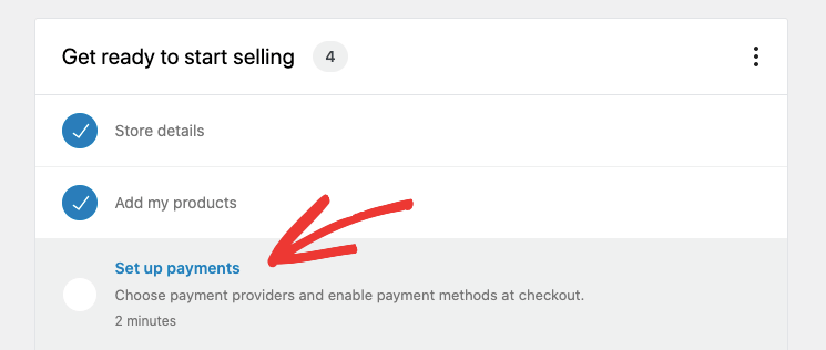 set up payments in woocommerce
