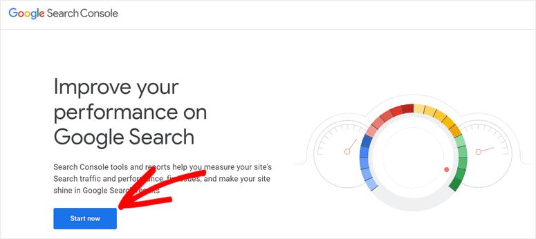 start-google-search-console