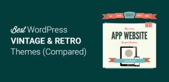 Best Vintage and Retro WordPress Themes