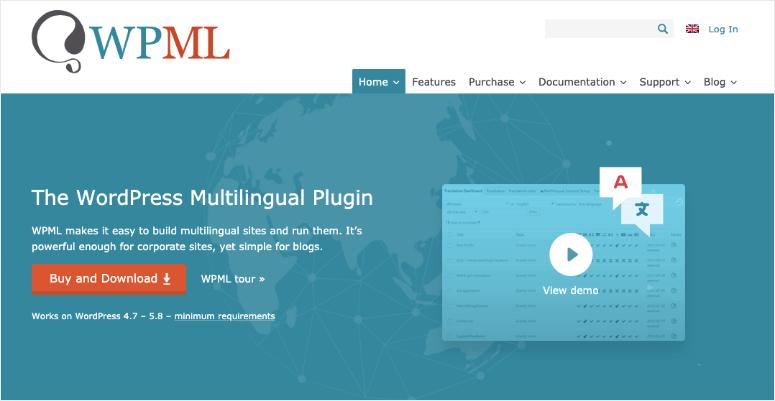 wpml homepage