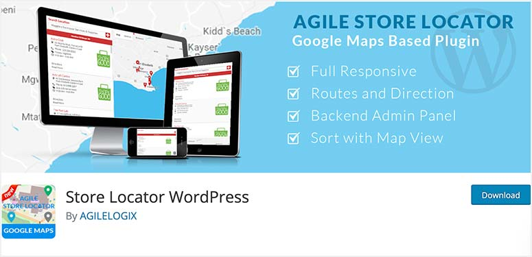 Agile Store Locator
