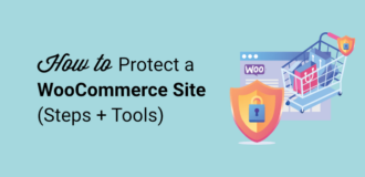 how to protect your woocommerce site