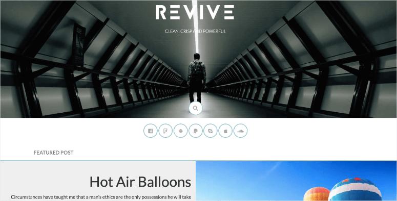 revive theme