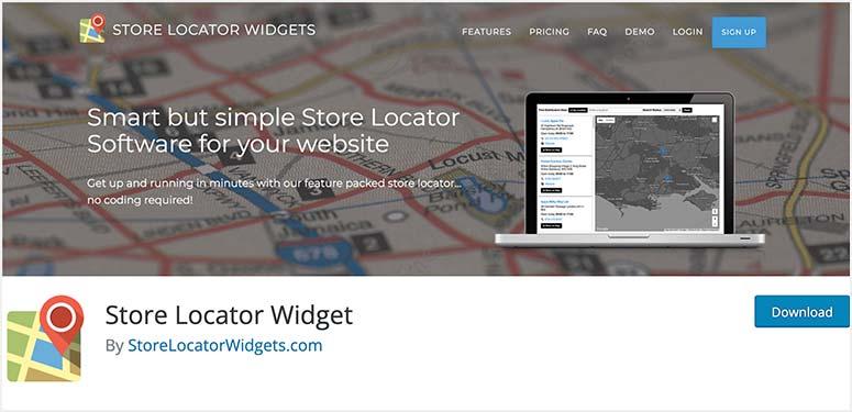 Store Locator Widget