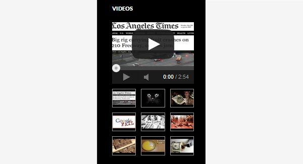 YouTube Channel Gallery Page Widget