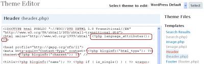 Language Attributes, HTML Type, Charset