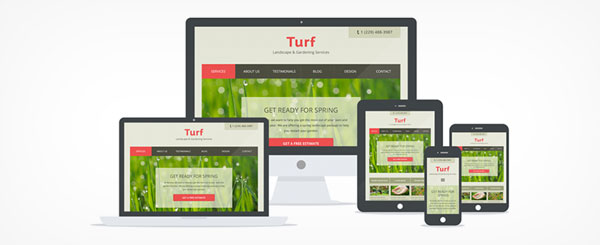 Turf - WordPress Landscape and Garden Theme